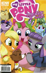 Comic issue 23 Hot Topic cover