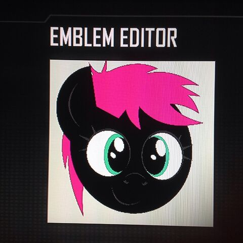 File:FANMADE Fony Pony OC Lovely Night Black Ops 2 Emblem.jpg