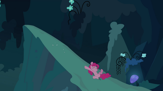 File:Pinkie Pie clone sliding down S3E03.png
