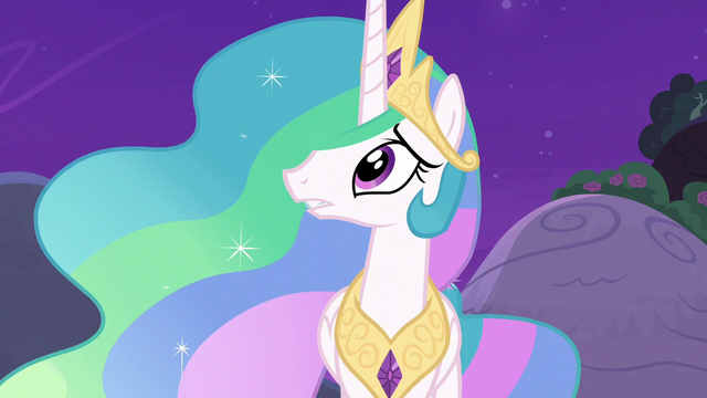 File:Princess Celestia looking at the moon S7E1.png