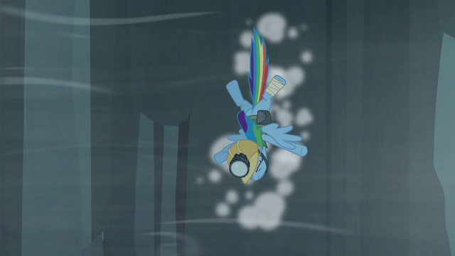 File:Rainbow hits the cliffside S5E8.png