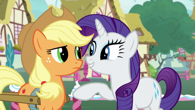 "File:Rarity ""you're the most honest pony there is"" S7E9.png"