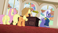 Gladmane gloating to Applejack and Fluttershy S6E20.png
