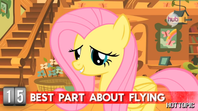 "File:Hot Minute with Fluttershy ""when I'm back safely on the ground"".png"