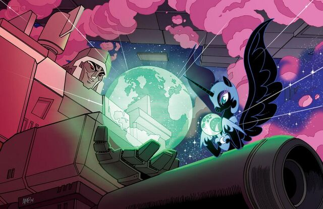 File:MLP Transformers BotCon lithograph by Tony Fleecs.jpg