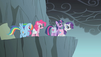 Rainbow Dash with her old cutie mark S1E07