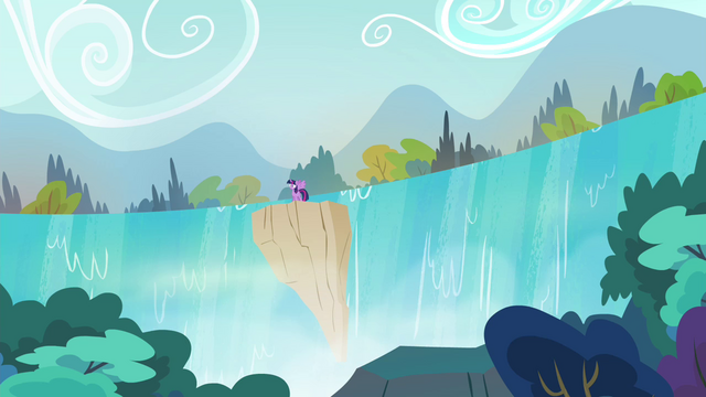 File:Twilight teleports at a waterfall S4E26.png