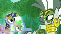 "Zecora ""Chrysalis and her army"" S5E26"