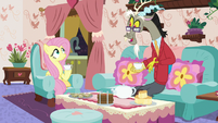 """Discord """"it did rain the other day, however"""" S7E12"""