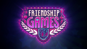 Friendship Games logo EG3