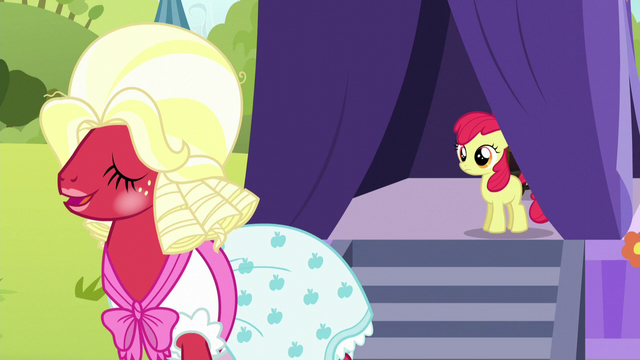 """File:Orchard Blossom """"we'll get you a blue ribbon yet"""" S5E17.png"""