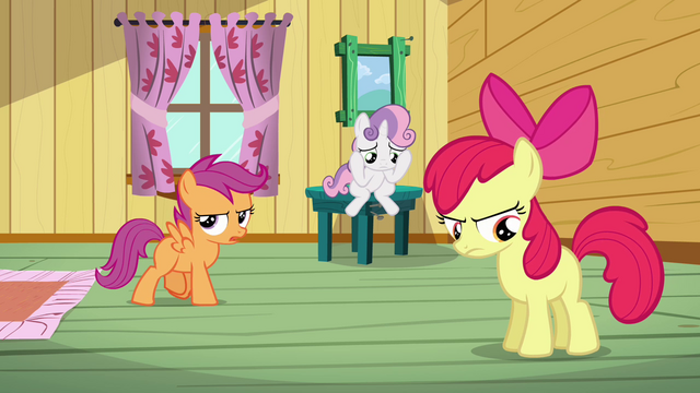 File:Scootaloo 'I still can't believe she ruined our pumpkin float' S3E04.png