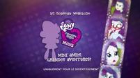 Pinkie Pie's Slumber Party - Rarity intro (French) EGM3