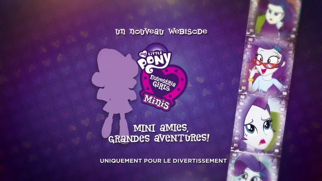 File:Pinkie Pie's Slumber Party - Rarity intro (French) EGM3.png