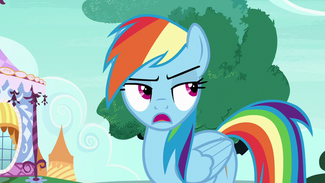 """File:Rainbow Changeling """"we need Rarity and Applejack"""" S6E25.png"""