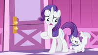 "Rarity ""I should probably go talk to her"" S4E19"