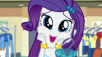 Rarity being giddy EG3
