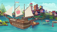 Seaward Shoals in Applejack's story S6E22