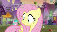 Fluttershy hears foals chanting S5E21