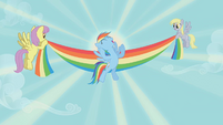 Rainbow Dash wins Iron Pony competition S1E13