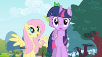 Twilight shocked by Fluttershy's request S1E1