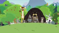 Clinic animals stampede toward the sanctuary S7E5