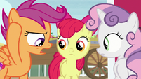 "Scootaloo ""we can't talk about costumes"" S7E8"