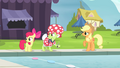 AJ, Apple Bloom and Granny hear Flim and Flam S4E20.png
