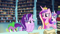 "Cadance ""Maybe he'll know what to do if the spell fails"" S6E2"