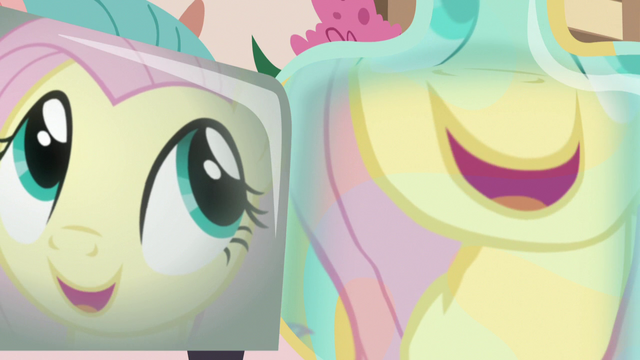 """File:Fluttershy's reflection """"so predictable!"""" S7E12.png"""