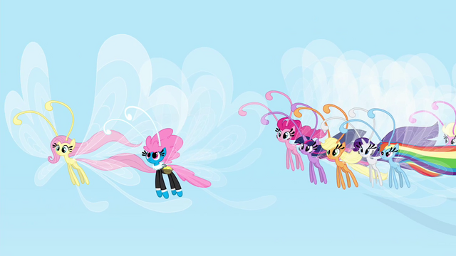 File:Mane 6 and Seabreeze fluttering S4E16.png