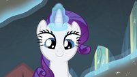 Rarity opening the box S4E19