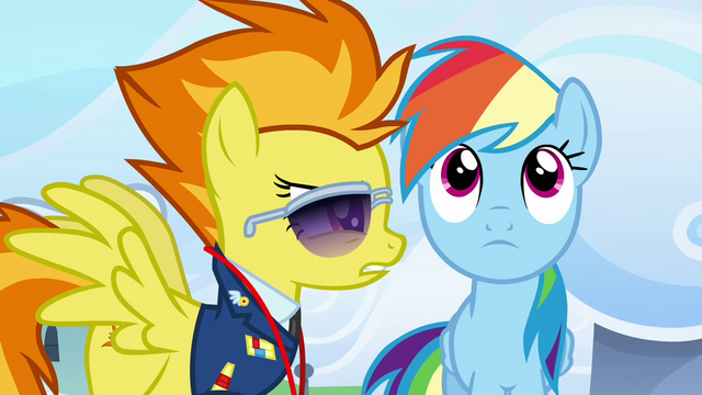 File:Spitfire talking at Rainbow's face S3E07.png