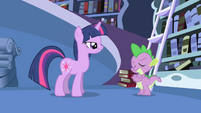 Celestia has never doubted Twilight S1E01