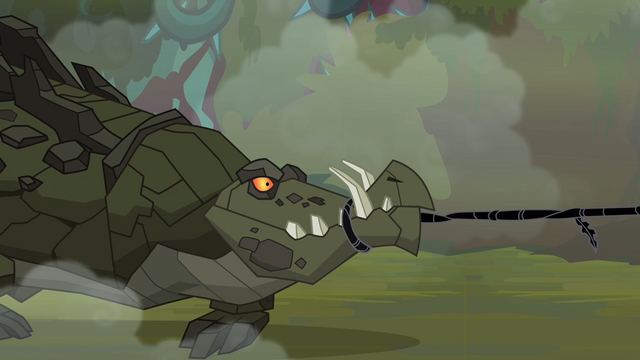 File:Cragadile's mouth subdued by the black vine S4E02.png
