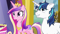 "Princess Cadance ""isn't that what I said?"" S7E3"