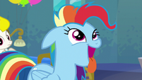 Rainbow Dash acting like a dog S6E7