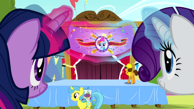 File:Twilight and Rarity levitating a banner S4E12.png