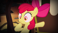 Apple Bloom pushing cart over hill S4E17.png
