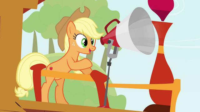 """File:Applejack """"let's get to it!"""" S3E8.png"""