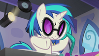 DJ Pon-3 in deep thought S5E9