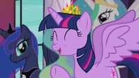"Princess Twilight ""we're so excited to have you here"" S5E10"