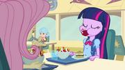 Twilight eating like a pony EG