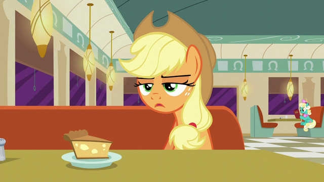 "File:Applejack ""It was a plum-puckered, pig-pushin'..."" S6E9.png"