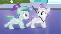 Crystal fillies excited and trotting S03E12