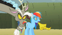 Discord 'Look over there Rainbow Dash!' S2E1