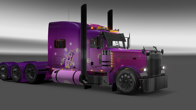 File:FANMADE ETS2 Pete 389 Custom - Princess Cadance Skin 10.png