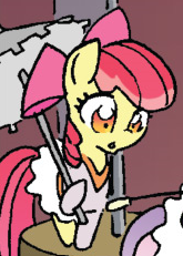 File:Friends Forever issue 2 Trapeze artist Apple Bloom.png