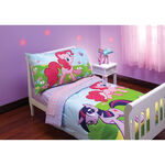 Pinkie Pie and Twilight bed set