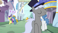 Ponies walking through Canterlot S03E01.png